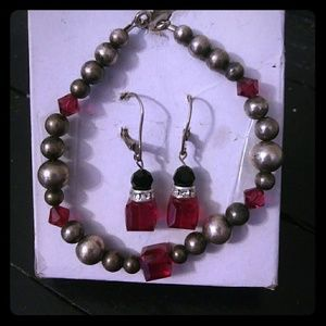 Jewelry - Ruby Red 2 piece Jewelry Set